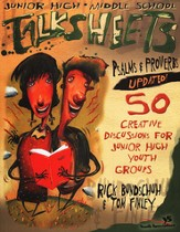 Junior High and Middle School Talksheets Psalms and Proverbs-Updated!: 50 Creative Discussions for Junior High Youth Groups / New edition - eBook