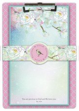 You Are Precious to God Clipboard and Notepad Set