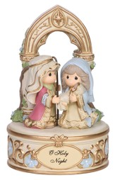 Precious Moments Musical Nativity Figurine