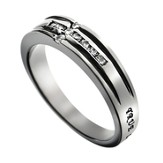 Channel Cross True Love Waits Ring, Size 9