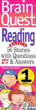 Brain Quest Grade 1 Reading, Revised 2nd Edition