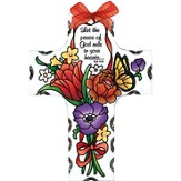 Let the Peace of God Rule in Your Heart, Cross Suncatcher