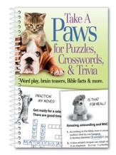 Take a Paws for Puzzles, Crosswords and Trivia