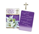 Christ Is Risen, Cross Pin and Card
