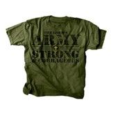 The Lord's Army Shirt, Green, Youth Medium