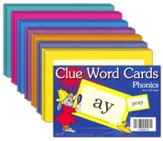 Clue Word Cards (Grades K5-3; 119 cards)