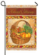Harvest Blessing, Small Flag