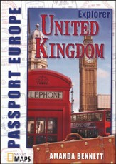 Passport Geography: United Kingdom, Explorer Level   CD-ROM
