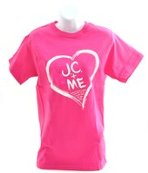 J.C. and Me, Heart Shirt, Pink, Large