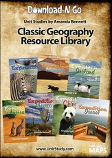 Classic Geography Resource Library CD
