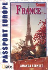 Passport Geography: France, Scout Level CD-ROM