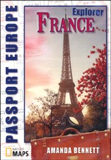 Passport Geography: France, Explorer Level CD-Rom