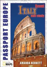 Passport Geography: Italy, Scout Level CD-ROM  Grades K-6