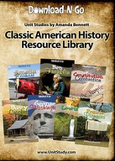 Classic American History Resource Library CD