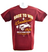 Race to Win Shirt, Burgundy, Small