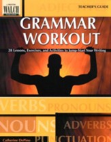 Grammar Workout, Teacher's Guide