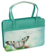 Butterfly Purse Style Bible Cover, Large