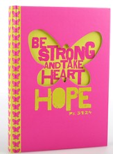 Be Strong, Pink and Yellow Journal