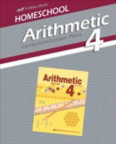 Homeschool Arithmetic 4 Curriculum/Lesson Plans