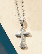 Flare Cross Necklace