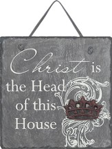Christ Is the Head Plaque