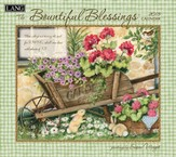Bountiful Blessings, Wall Calendar 2015