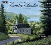 Country Churches, Wall Calendar 2015