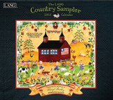 Country Sampler, Wall Calendar 2015