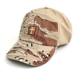 Camo Cap with Cross