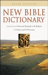New Bible Dictionary  Third Edition
