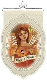 Angel, Peace On Earth Wall Hanging
