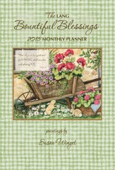 Bountiful Blessings, Monthly Planner 2015
