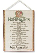 Home Rules, Tapestry Bannerette