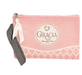 Grace, It Is the Gift From God Zippered Bag, Spanish