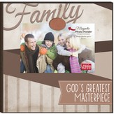 Family, God's Greatest Masterpiece, Magnetic Photo Frame