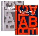 Saxon Algebra 1, Answer Key Booklet & Test Forms  - Slightly Imperfect