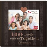 Love Is What Binds Us Together, Magnetic Photo Frame