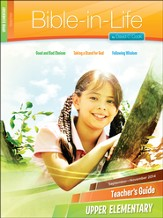 Bible-in-Life Upper Elementary Teacher's Guide, Fall 2014