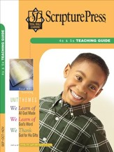 Scripture Press 4s & 5s Teaching Guide, Fall 2016