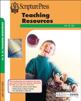 Scripture Press 4s & 5s Teaching Resources, Fall 2014