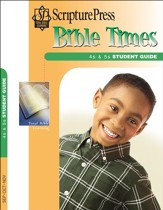 Scripture Press 4s & 5s Bible Times Student Guide, Fall 2016