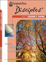 Scripture Press Adult Disciples Bible Study Series Leaders Guide, Fall 2014