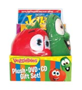 VeggieTales Plush, DVD, and CD Gift Set