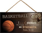 Basketball, I Can Do Everything, Hanging Sign