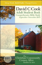 Bible-in-Life Adult Comprehensive Bible Study Student Book, Fall 2015