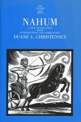 Nahum: Anchor Yale Bible Commentary [AYBC]