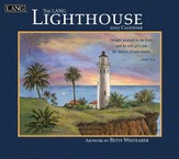 Lighthouse with Scripture, Wall Calendar 2015