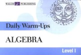 Algebra, Level 1: Daily Warm-Ups