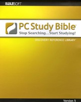 Biblesoft PC Study Bible 5.0: Discovery Reference Library on CD-ROM