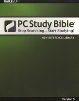 Biblesoft PC Study Bible 5.0: New Reference Library on CD-ROM